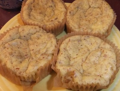 Healthy Low-Carb Pound Cake Muffins